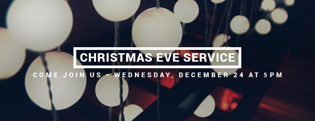 Candle Light Service: 5:00 - 6:00 p.m.